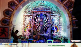 Hindu Muslim together worship Goddess Durga in this Puja Mandap in Cuttack