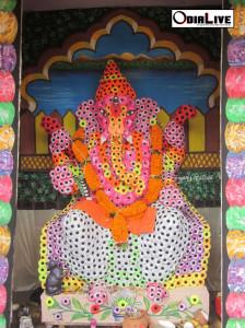 Lord ganesh puja cuttack 2013