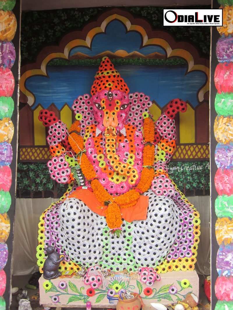 Lord ganesh puja cuttack 2013