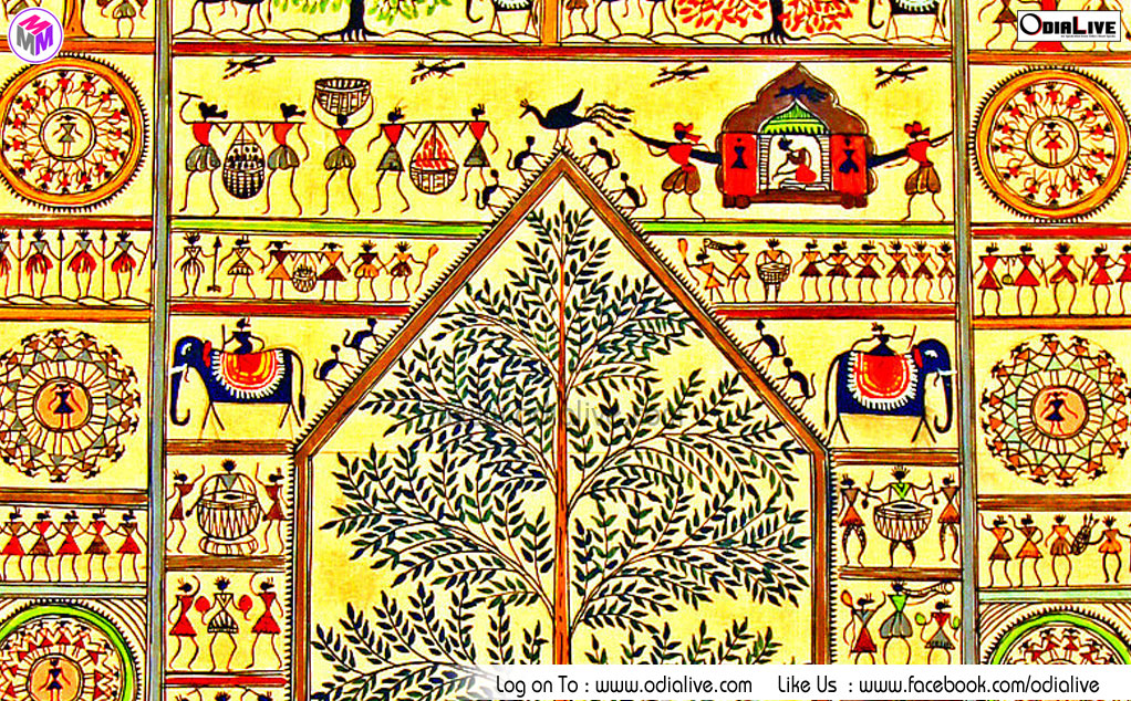 Santhal-and-Saora-Paintings