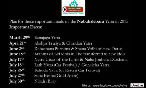 nabakalebara-2015-complete-schedule