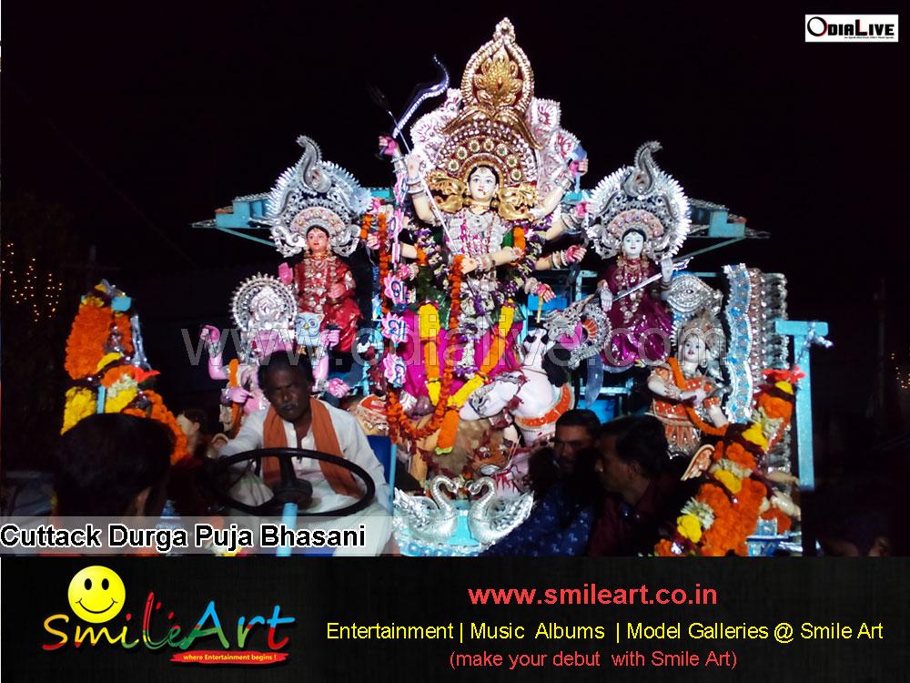 Cuttack durga puja bhasani 2015 (9)