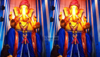 35Ft tall Lord Ganesh idol at Cuttack