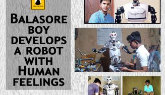 Balasore boy develops a robot with Human feelings