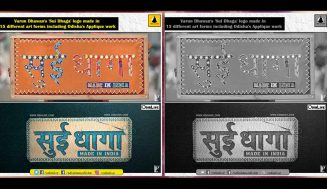 Varun Dhawan's 'Sui Dhaga' logo made in 15 different art forms including Odisha's Applique  work
