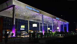 Maiden flight takes off from Veer Surendra Sai Airport Jharsuguda
