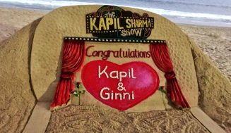 Sudarsan Pattnaik wishes Kapil, Ginni for their wedding