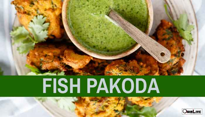 Make Tasty Fish Pakoda at home in Odia style