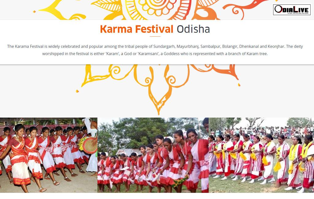 Karma Festival Odisha